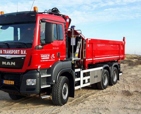 Vrachtwagen 6x6